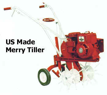 US Made Merry Tiller